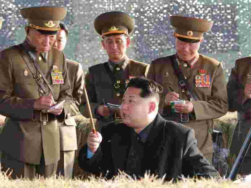 Kim Jong-un serait inquiet de voir un coup d'état militaire se produire en Corée du Nord pendant qu'il rencontre Trump à Singapour