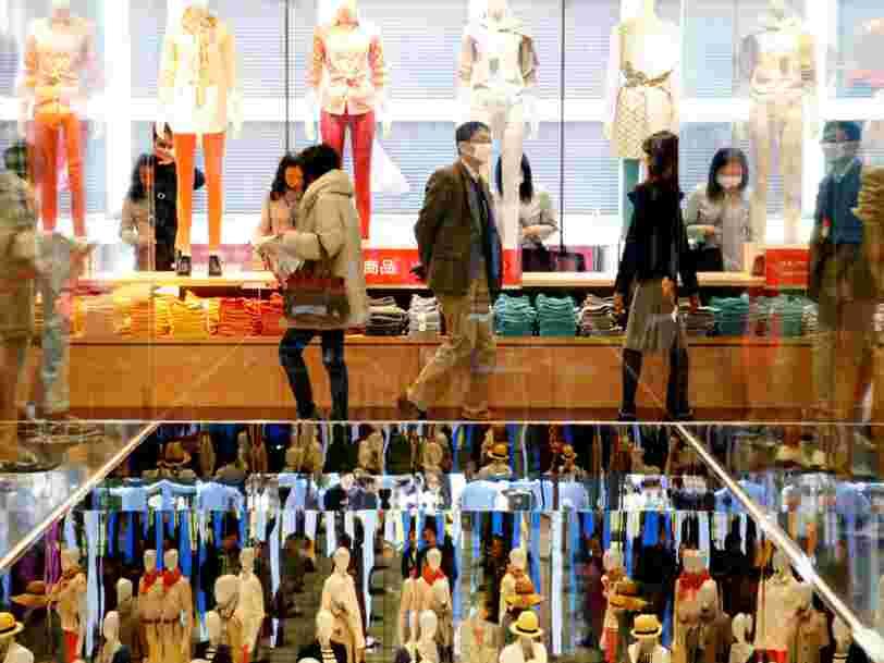 Uniqlo a réduit de 90% sa main d'œuvre dans son principal entrepôt japonais pour rivaliser avec Amazon