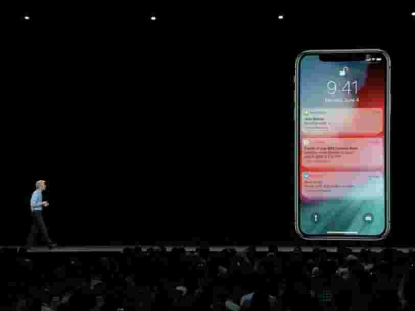 Apple pique une bonne idée à Android alors qu'elle se prépare à améliorer considérablement les notifications iPhone