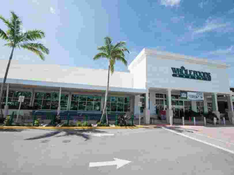 Amazon rachète la chaîne américaine d'épiceries bio Whole Foods pour 13,7Mds$