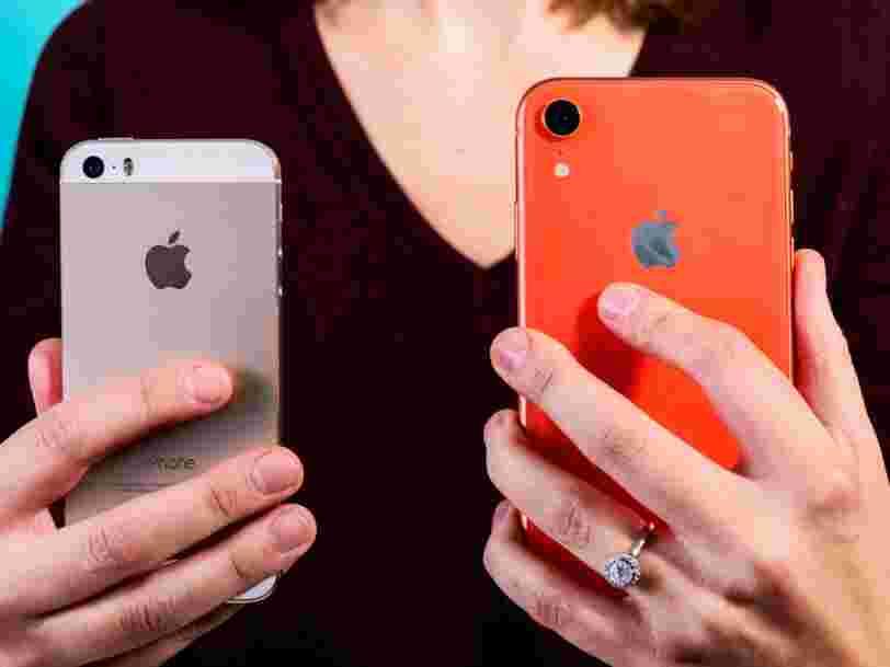 Voici ce qu'Apple prévoit pour ses iPhones de 2019