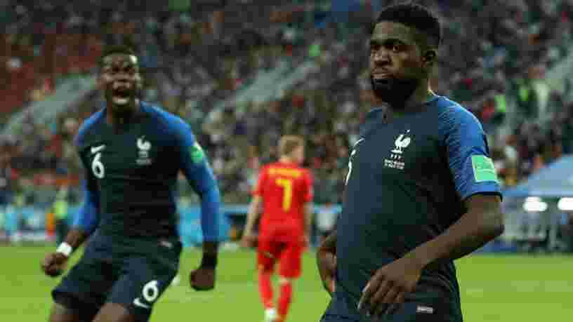 La France se qualifie pour la finale de la Coupe du monde de football en Russie