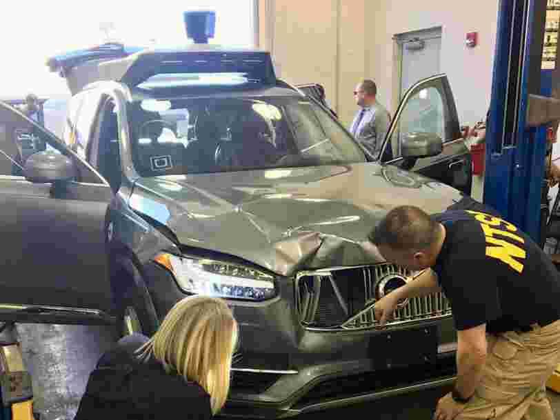 Uber met fin à ses tests de voitures autonomes en Californie après l'accident qui a tué une femme