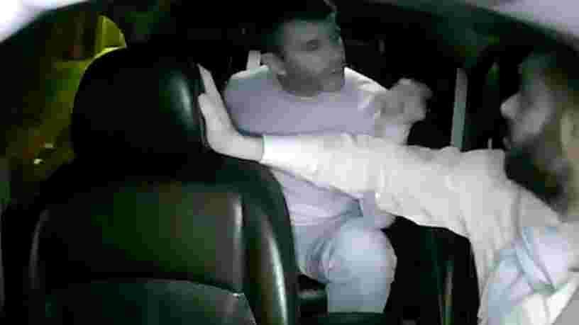 Une vidéo montre une dispute animée entre le patron d'Uber et un chauffeur