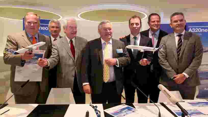 Airbus décolle en Bourse après la signature d'un contrat de 42Mds€,l'un des plus importants décrochés par le constructeur européen