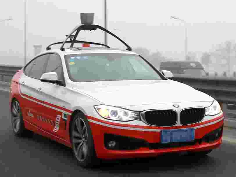 Le géant de l'internet chinois Baidu lance sa technologie de voiture autonome