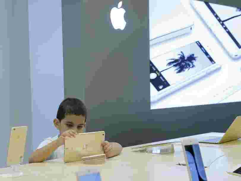 Apple explique pourquoi il a supprimé une dizaine d'applis de contrôle parental de l'App Store