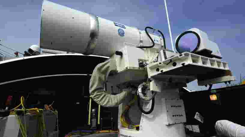 La France met au point des armes laser contre les satellites ennemis