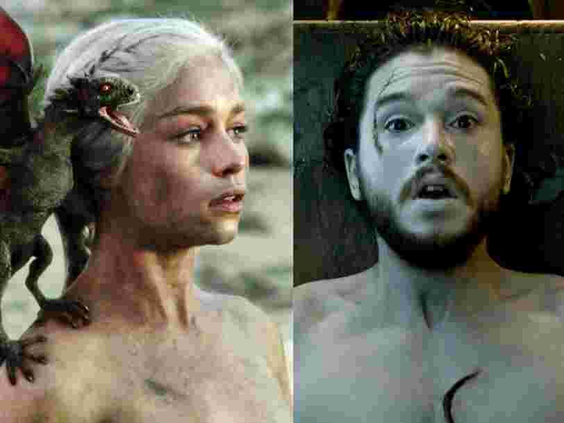 Avant la saison 8 de 'Game of Thrones', voici le résumé des sept premières