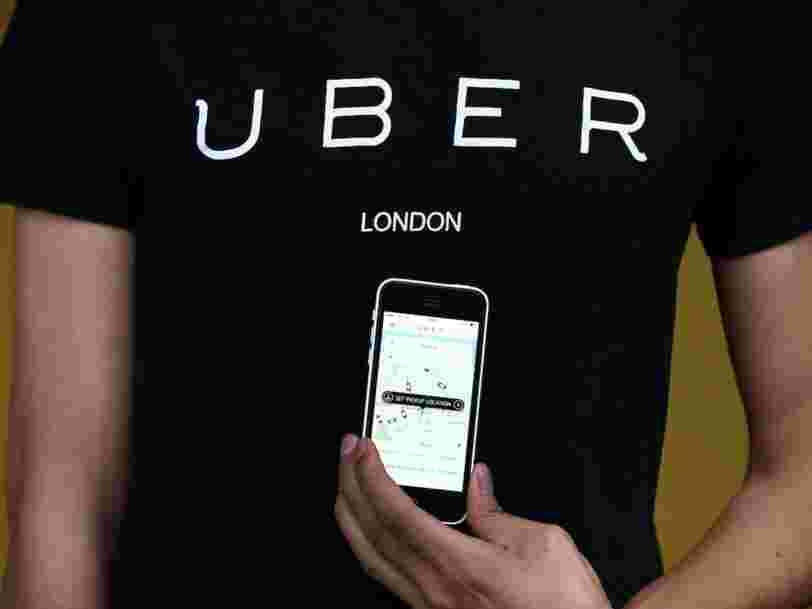 Uber vient de perdre le droit d'opérer à Londres