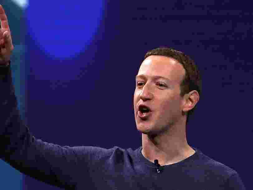 Facebook bouleverse son organisation et se restructure autour de 3 domaines clés