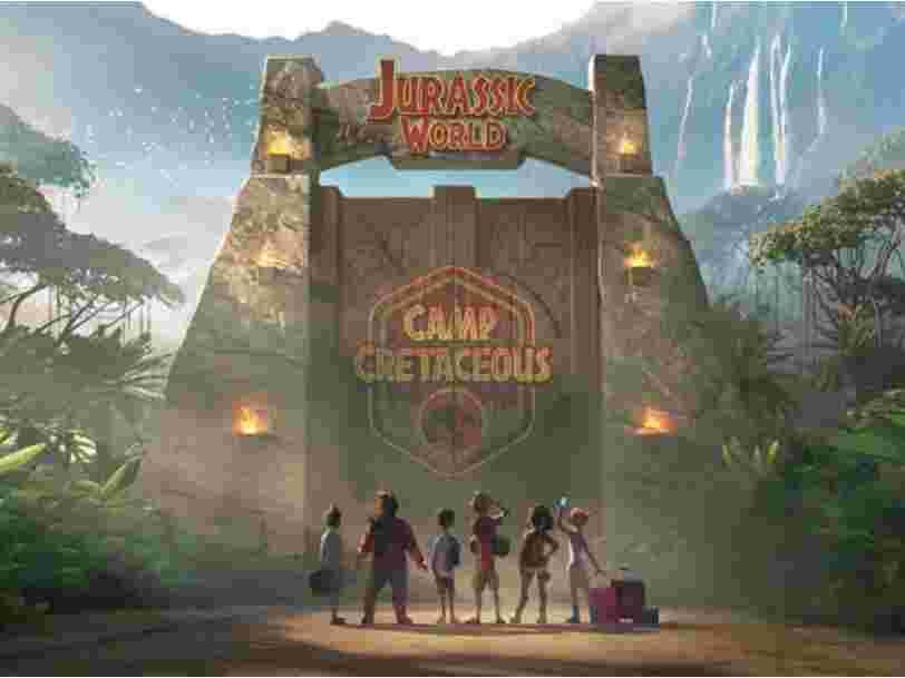 La première bande-annonce de la série animée Netflix 'Jurassic World : Camp Cretaceous'