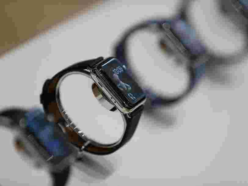 La montre connectée d'Oppo ressemble comme deux gouttes d'eau à l'Apple Watch