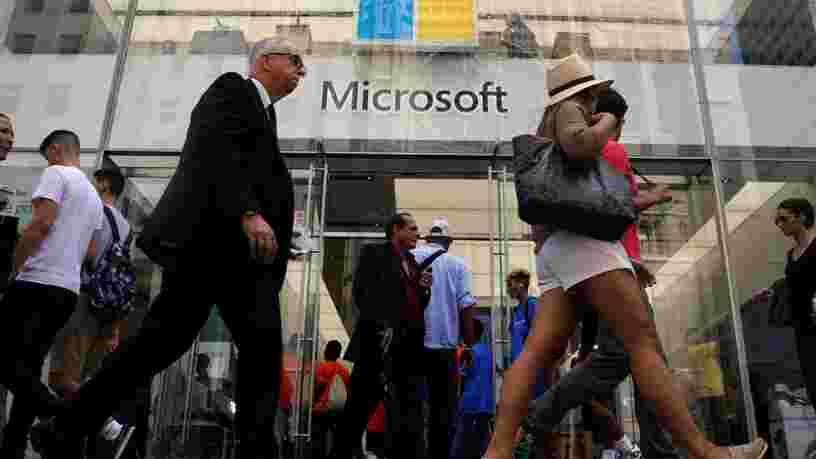 Microsoft bat les attentes de Wall Street grâce au cloud Azure... et les 6 autres choses à savoir dans la tech ce matin