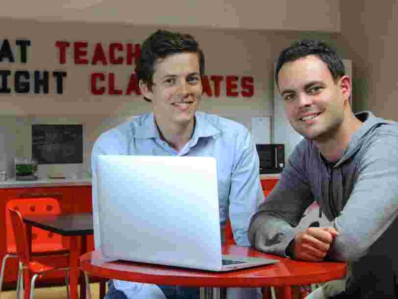 Ces 2 Français qui offrent des cours en ligne gratuitement aux demandeurs d'emploi lèvent 60M$ pour le faire dans le monde entier