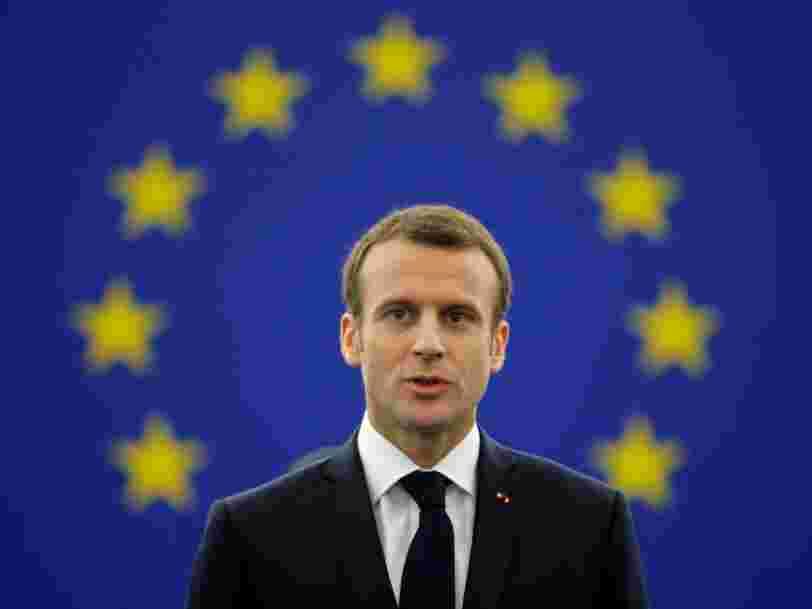 Emmanuel Macron attaque les 'démocraties illibérales' au Parlement européen: 'Je ne veux pas appartenir à une génération de somnambules'
