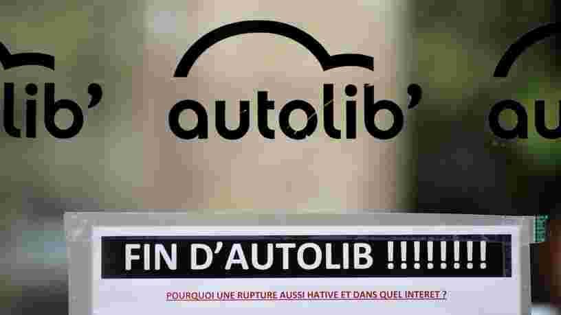Autolib s'arrête à Paris mais la facture s'annonce tout de même salée
