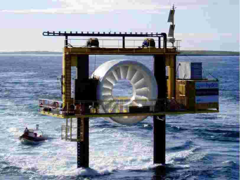 Le constructeur naval militaire DCNS a réuni 100M€ pour atteindre un objectif ambitieux dans les énergies marines