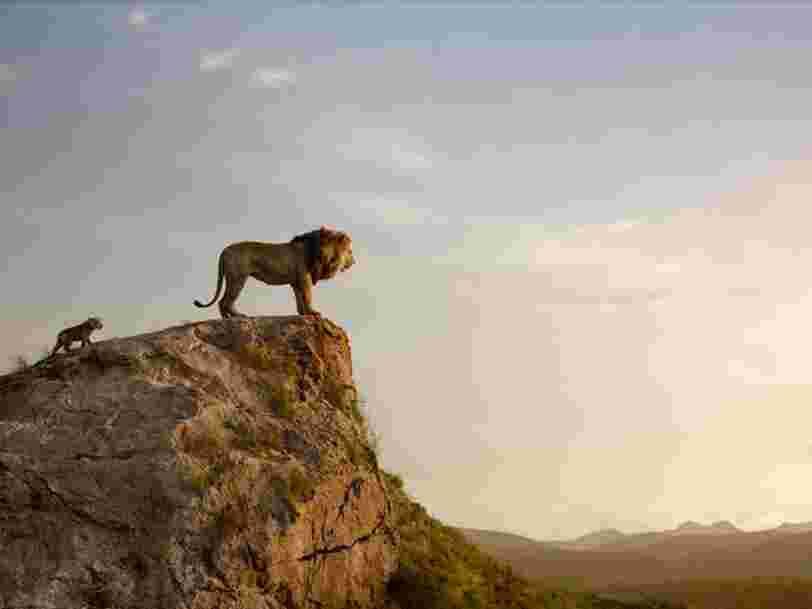 'Le Roi Lion' fait presque aussi bien qu''Avengers' dans les salles françaises