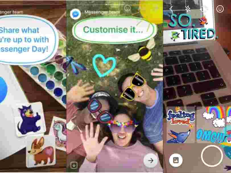 Facebook copie encore une fois une des fonctionnalités les plus importantes de Snapchat