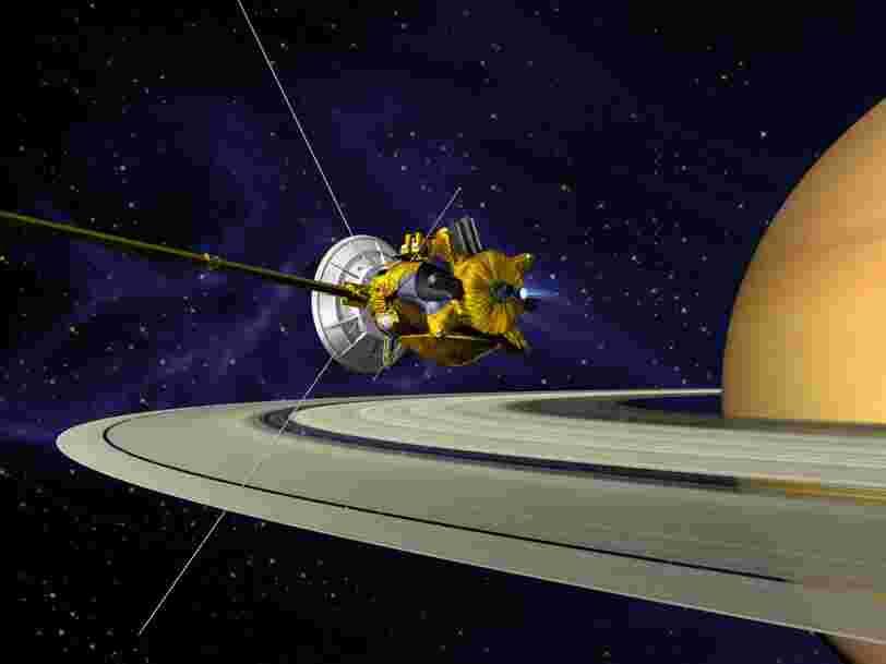 La sonde en orbite autour de Saturne depuis 2004 reçoit aujourd'hui les ordres pour une mission suicide