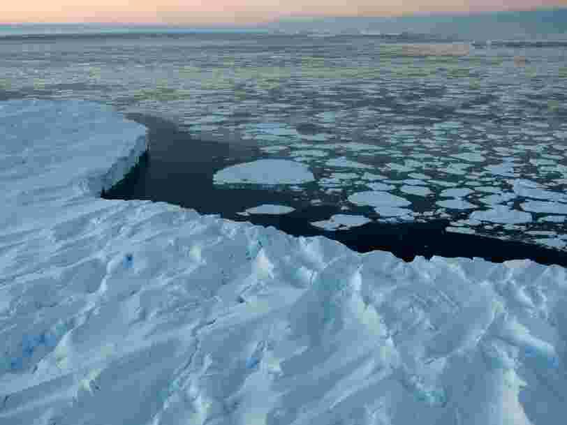 Un iceberg grand comme 16 fois Paris se détache de l'Antarctique. Et oblige une station de recherche britannique à se délocaliser une nouvelle fois