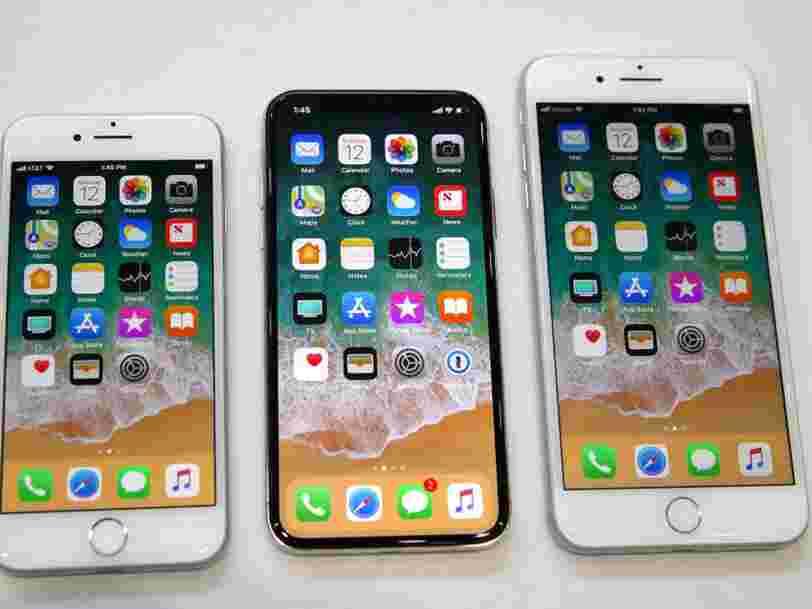 Apple prévoit de sortir 3 nouveaux modèles d'iPhone cette année