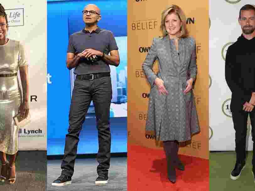 L'élite de la tech et la mode — coup d'œil sur les styles soigneusement cultivés de la Silicon Valley