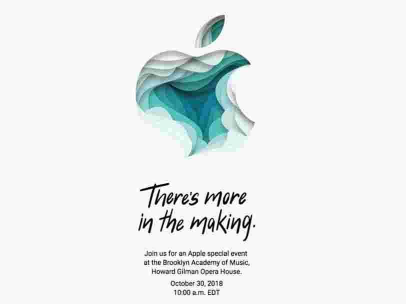 Apple a envoyé les invitations pour la présentation de ses nouveaux iPads le 30 octobre