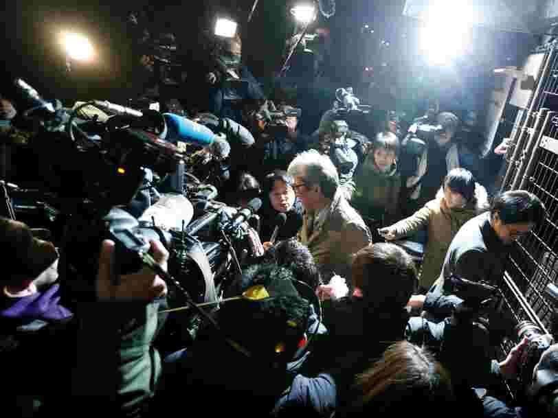 Carlos Ghosn espérait enfin être libéré mais le parquet de Tokyo a décidé de l'arrêter de nouveau