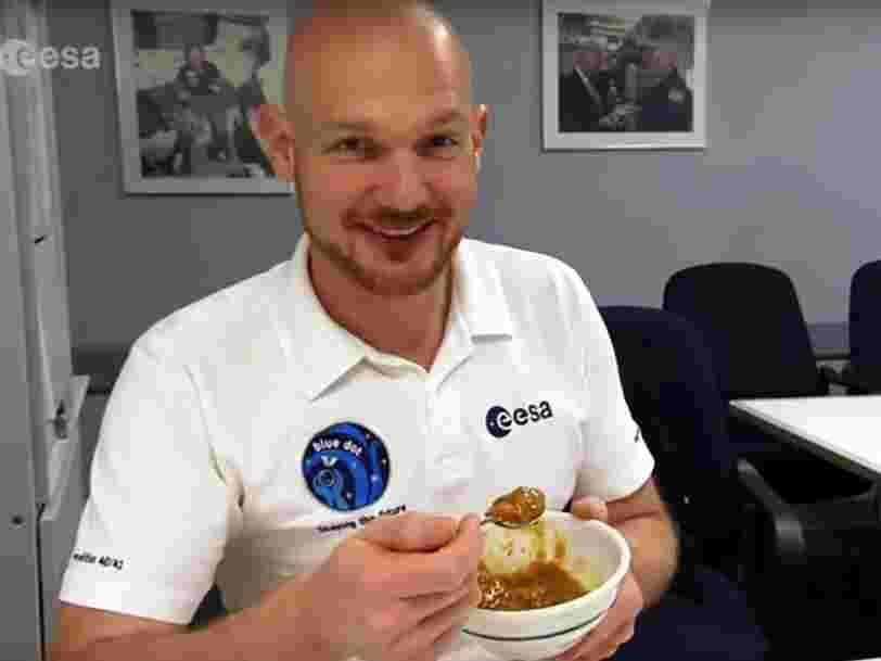 Les grains de sel sont interdits sur l'ISS pour la sécurité des astronautes — voici toutes les exigences de l'ESA concernant les plats consommés dans l'espace