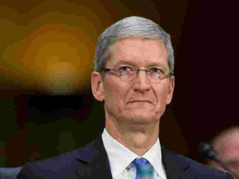 Apple rejette en partie les faibles ventes d'iPhones sur les clients qui ont profité de l'offre de remplacement de la batterie à 30 $
