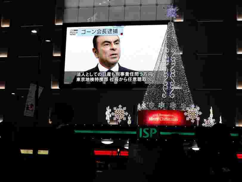 Le calvaire nippon de Carlos Ghosn se prolonge — le PDG de Renault va rester 10 jours de plus en détention