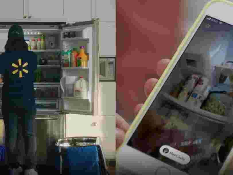 Walmart livre jusque dans le frigo des Américains pour rivaliser avec Amazon