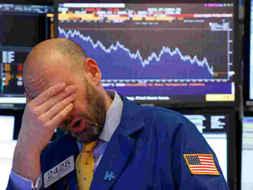 La nervosité des marchés a envoyé le Dow Jones en territoire de correction — mais les Bourses européennes feignent l'indifférence
