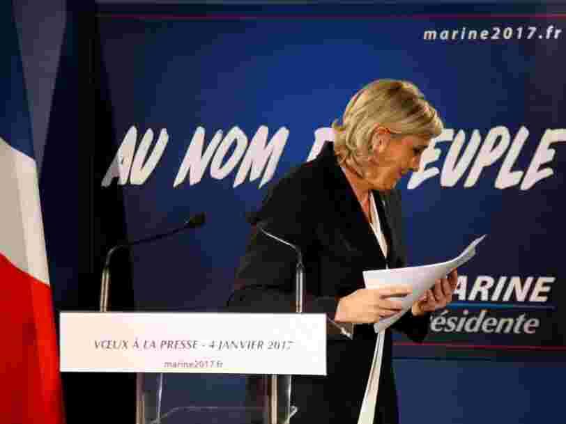 Le Parlement européen lance la procédure de levée de l'immunité de Marine Le Pen
