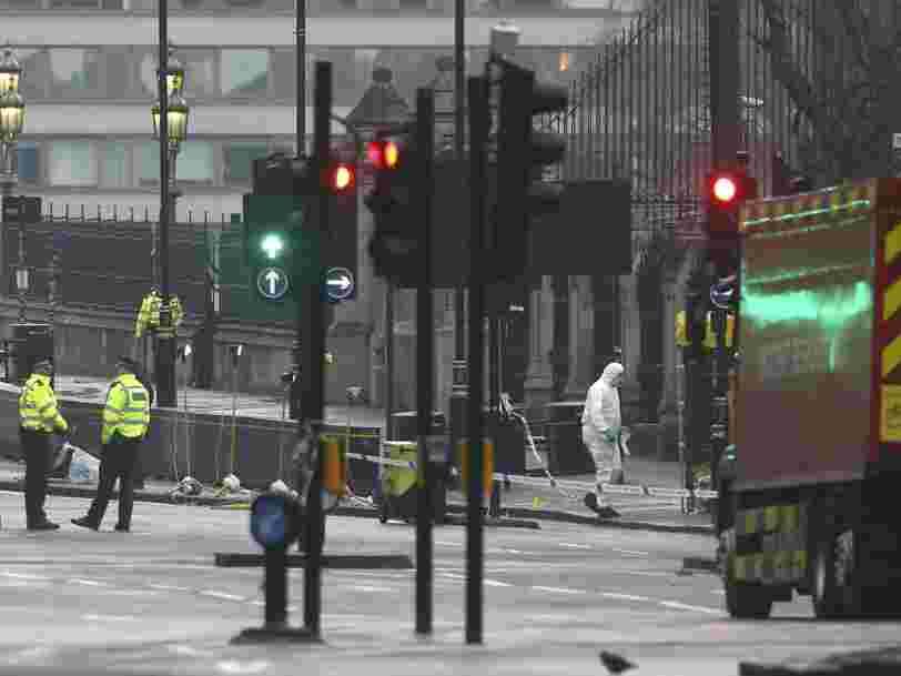 Une attaque terroriste à Londres fait 4 morts