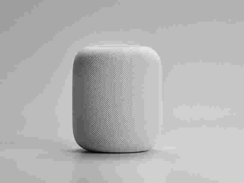 Le HomePod d'Apple ressemble beaucoup à une enceinte connectée lancée par une startup française l'année dernière