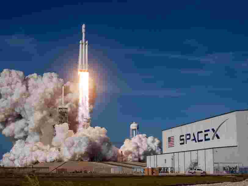 SpaceX vient de remporter avec son Falcon Heavy un contrat de 130 M$ avec l'armée américaine — et un argument a été important