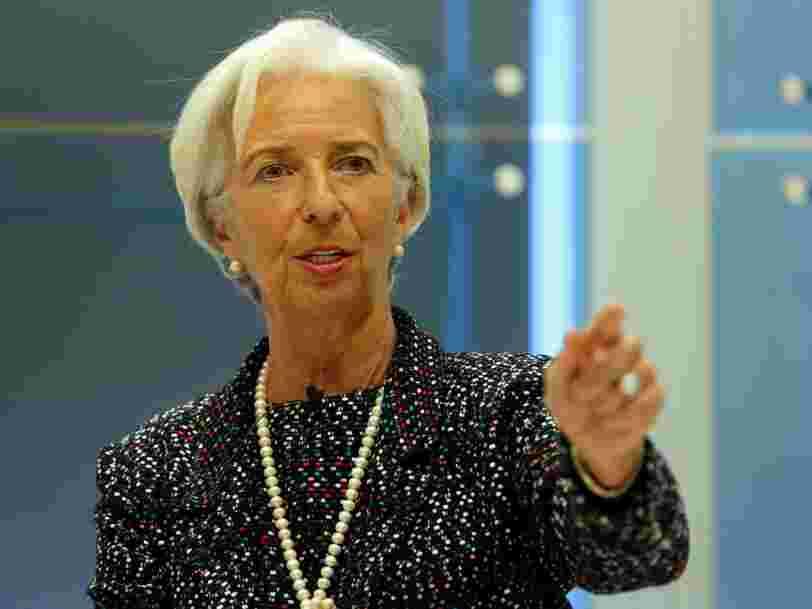 Christine Lagarde explique pourquoi le monde entier s'intéresse tant à l'élection présidentielle française
