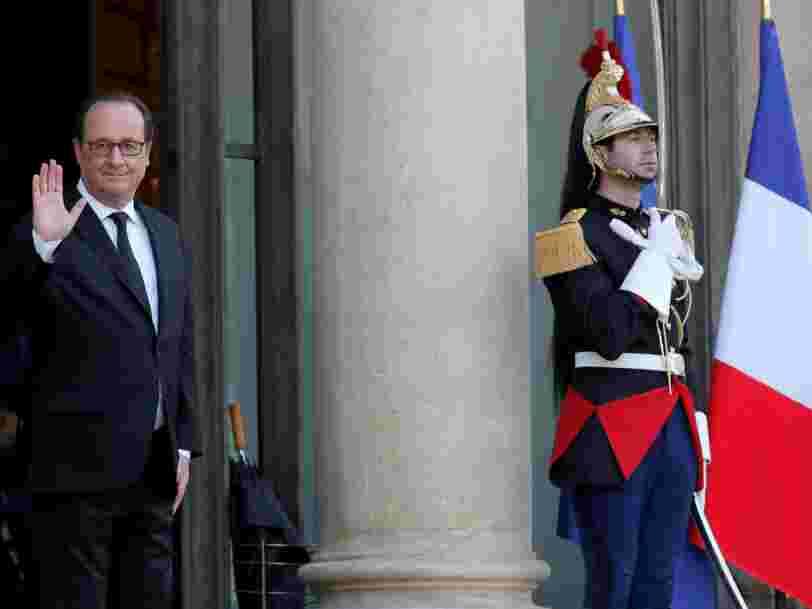 François Hollande est encore à l'Elysée une semaine — voici ce que son successeur aura le droit de faire juste après