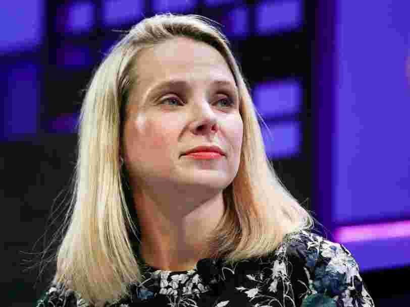 Marissa Mayer assure que l'accord entre Yahoo et Verizon est maintenu alors que son chiffre d'affaires chute au T3