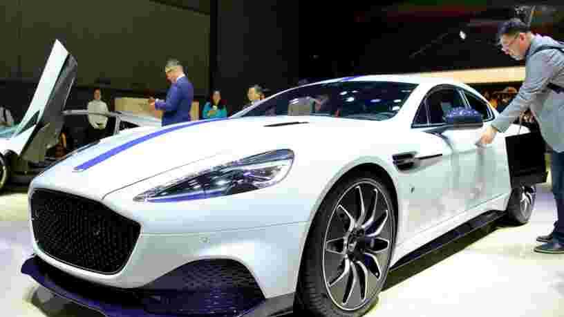 Aston Martin vit un cauchemar en Bourse
