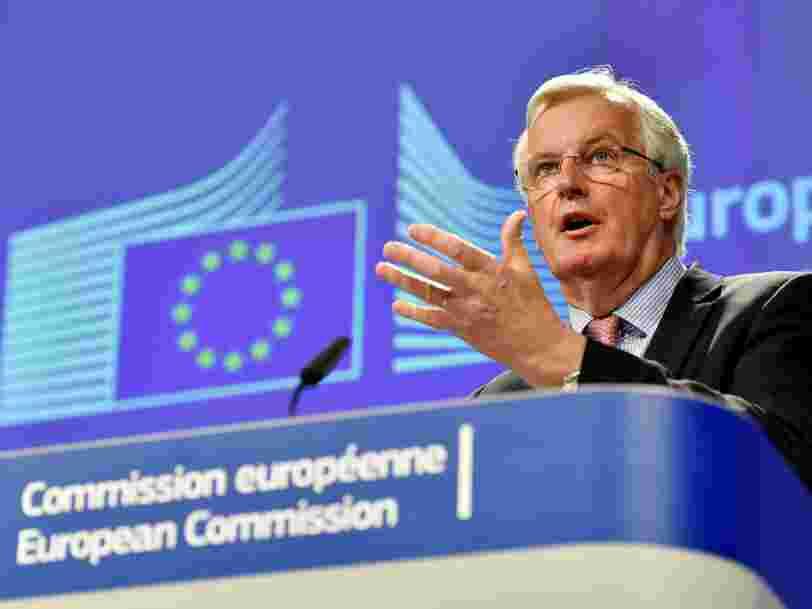 'Un retrait ordonné': l'UE vient de publier son plan pour négocier le Brexit