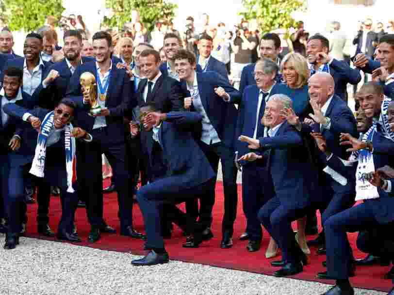 Les 23 champions du monde sont de retour en France — et ces photos montrent l'accueil triomphal réservé par des centaines de milliers de personnes