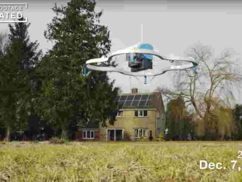 Amazon a livré son premier colis par drone — voici la vidéo
