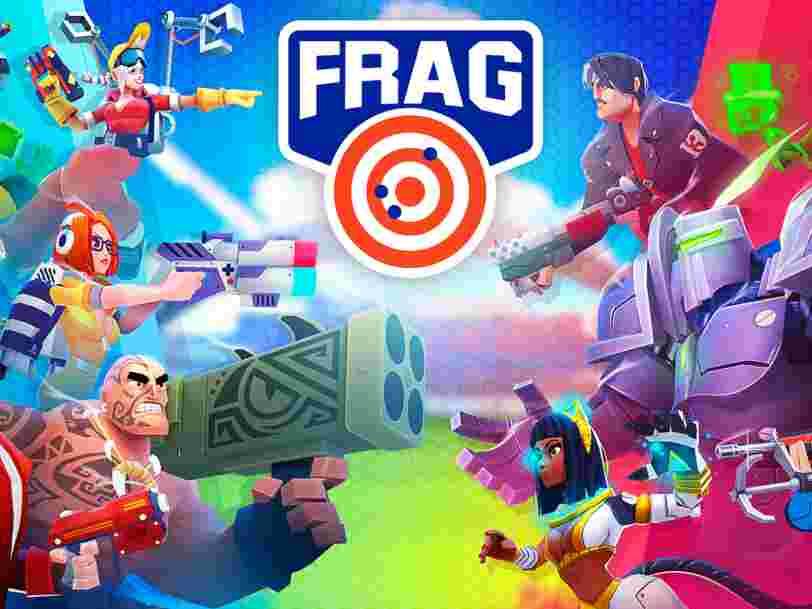 2 Français dévoilent leur jeu vidéo mobile 'FRAG', censé rivaliser avec le succès mondial 'Fortnite' — voici à quoi il ressemble