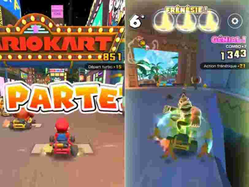 Mario Kart sortira le 25 septembre sur iOS et Android