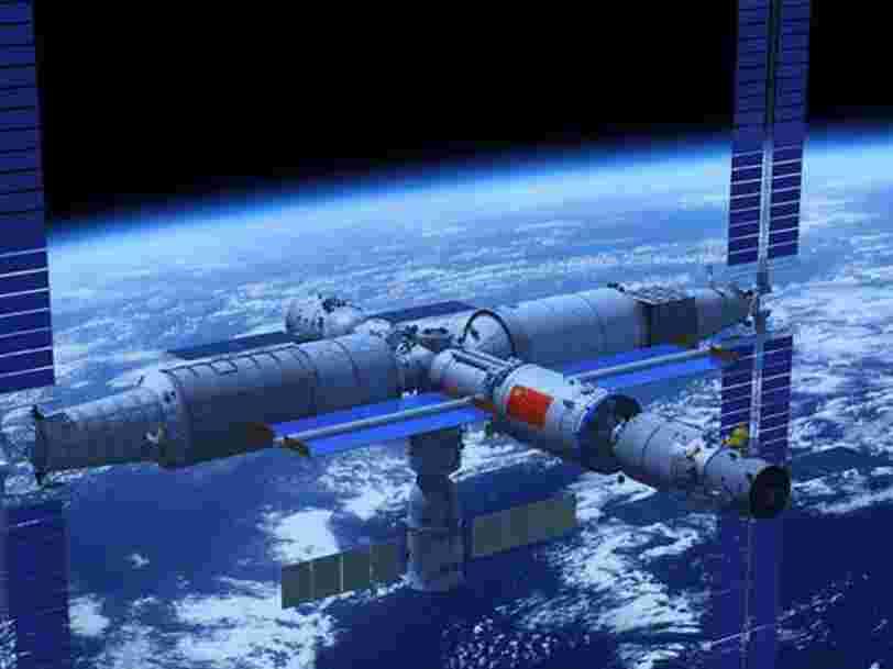La Chine a présenté sa station spatiale qui doit être assemblée dans l'espace en 2022 — voici ce que l'on sait sur le vaisseau qui devrait abriter des astronautes après la retraite de l'ISS