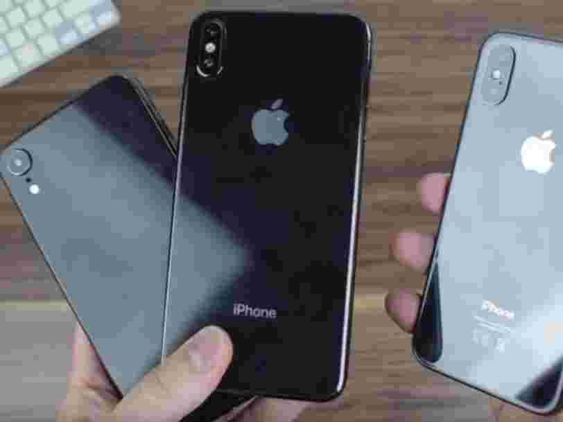 Les nouveaux iPhones pourraient s'appeler iPhone 9, iPhone XS et iPhone XS Plus